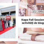 Kapa Fall Session & Blogmeet #9: activități de blogger în Timișoara